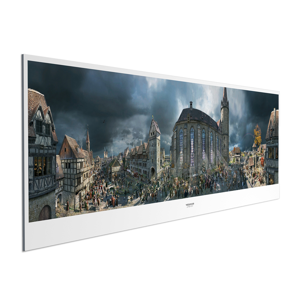 LUTHER 1517 Panorama Poster